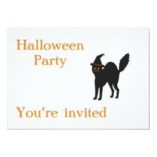 Halloween-Party lädt ein Karte