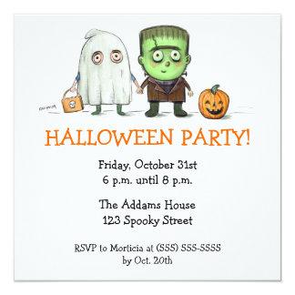 Halloween-Party-Trick oder Treater Einladungen