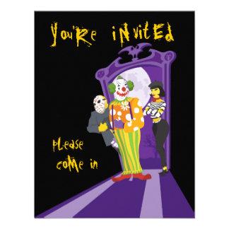 Halloween-Partyeinladung Individuelle Einladungen