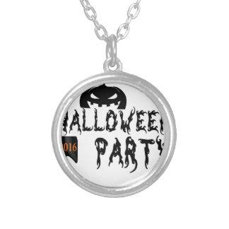 Halloween-Partyentwurf Halskette Mit Rundem Anhänger
