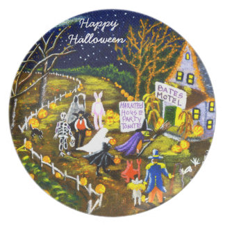 "Halloween-Partyplatte ""Party an! "" Teller"