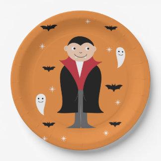 Halloween-Plattenentwurf Pappteller