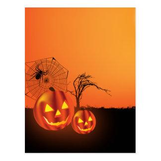 Halloween Postkarte
