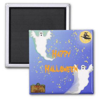 Halloween Quadratischer Magnet