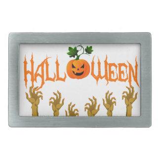 Halloween Rechteckige Gürtelschnalle