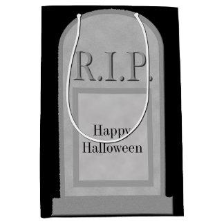 Halloween-RIP Grabstein MGB Mittlere Geschenktüte