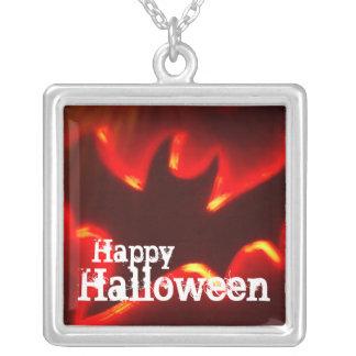Halloween-Schläger-Halskette Versilberte Kette