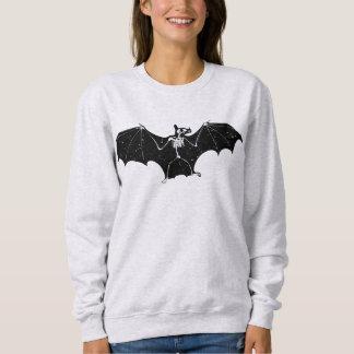 Halloween-Schlägerskelett-Sweatshirt Sweatshirt