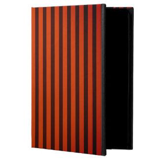 Halloween schwarz und Orange striped