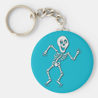 Halloween-Skelett-Schlüsselring Schlüsselanhänger