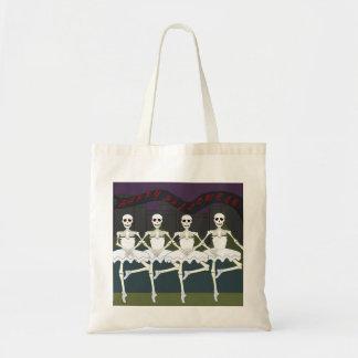 Halloween-Skelett-Taschentasche Tragetasche