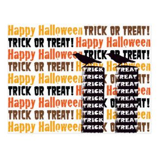 Halloween-Spaß Postkarte