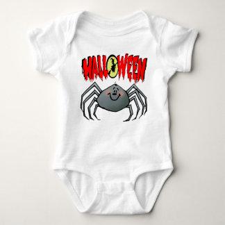 Halloween-Spinne Baby Strampler