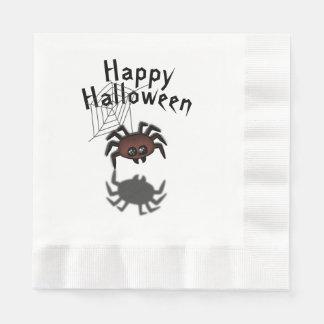 Halloween-Spinne Papierserviette