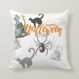 Halloween-Spinnen-Grab Kissen