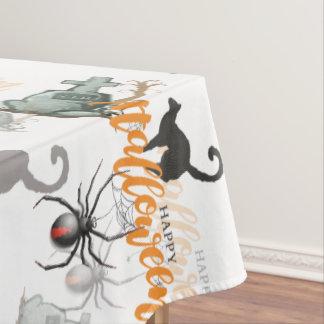 Halloween-Spinnen-Grab Tischdecke