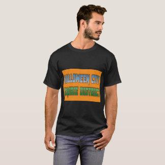 HALLOWEEN-STADT-ZOMBIE-BEZIRK   T - Shirt