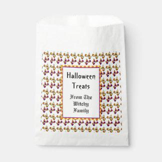 Halloween-Süßigkeits-Mais-Muster-kundenspezifische Geschenktütchen