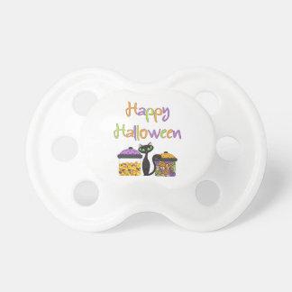 Halloween-Süßigkeits-schwarze Katze Schnuller