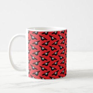 Halloween-Tasse, Halloween-Schläger, Rot und Tasse