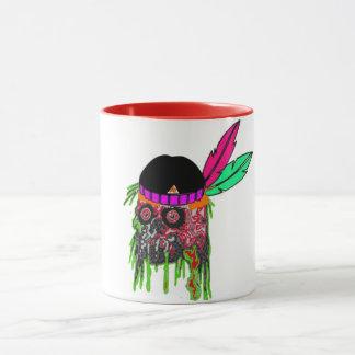 Halloween-Tassenentwurf Halloween-Zombies Tasse