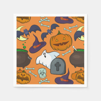 Halloween-Thema Papierserviette