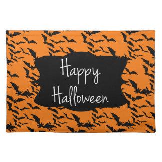 Halloween-Tischset Stofftischset