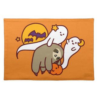 Halloween-Trägheit Tischset
