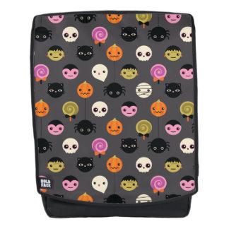 Halloween-Tupfen-Muster Rucksack