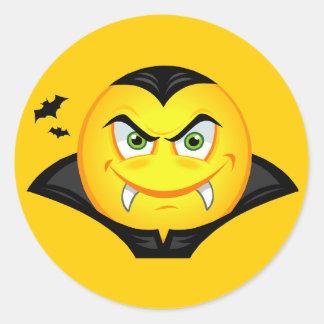 Halloween-Vampirs-smiley Stickers