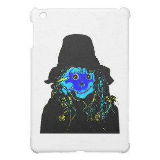 Halloween-Vogelscheuche-Blau die MUSEUM Zazzle iPad Mini Hüllen