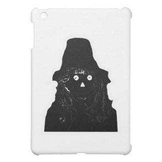 Halloween-Vogelscheuche-Schwarzes die MUSEUM Zazzl iPad Mini Hülle