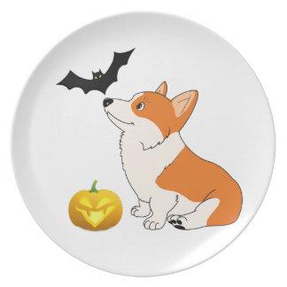 Halloween Waliser Corgi Teller