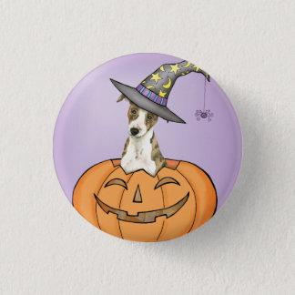 Halloween Whippet Runder Button 3,2 Cm