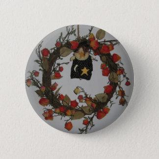 Halloween winden runder button 5,1 cm