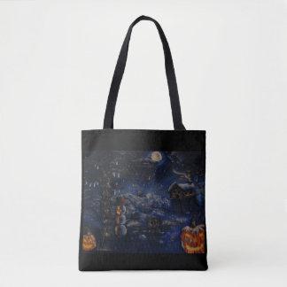 Halloween-Winter-Geldbeutel-Malerei Tasche