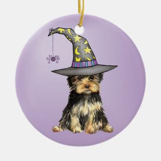 Halloween Yorkie Keramik Ornament