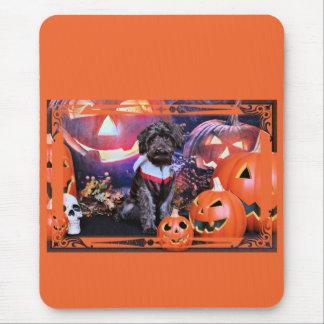 Halloween - YorkiePoo - Fassbinder Mauspad