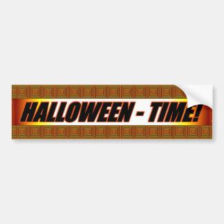 Halloween-Zeit! Autoaufkleber