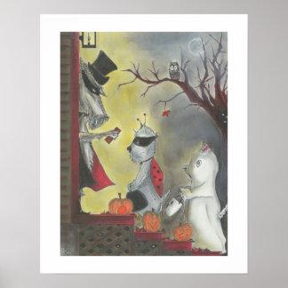 Halloweenc$wanze-ein-boos-Druck Poster