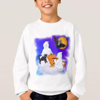 Halloweengeister und -freunde sweatshirt