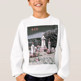 HalloweenGraveyard RIP Party-Versorgungen Sweatshirt