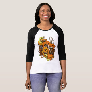 Halloweenkürbis-und -schlangen-Shirt T-Shirt