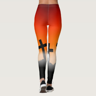 HalloweenSpecial mit Kreuzen Leggings