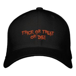 Halloweentrick oder -Leckerei oder sterben! Baseballkappe