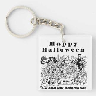 Halloweentrick-oder Schlüsselanhänger