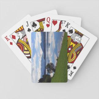 Hallstattersee See, Alpen, Österreich Spielkarten