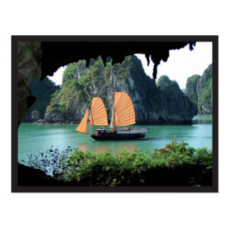 Halong Bay - Postal card Postkarte