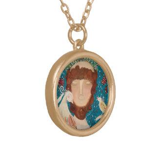 Halsband mit Anhänger sind Francisco Assis S2 Von Vergoldete Kette
