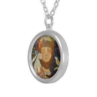 Halsband mit Anhänger sind Francisco Assis Von Versilberte Kette